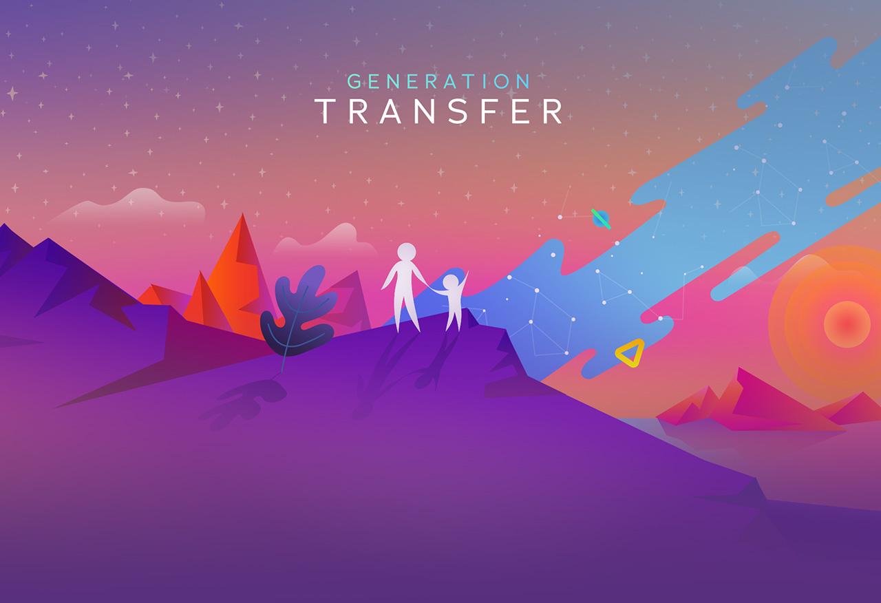 "Иллюстрации ""Generation transfer"""